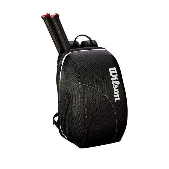 Wilson Federer Team Backpack Black, Black, rebel_hi-res