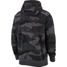 Nike Mens Sportswear Club Full-Zip French Terry Hoodie Grey S, Grey, rebel_hi-res