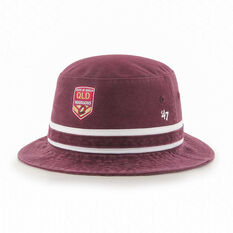 QLD Maroons State of Origin 2020 Striped Bucket Hat, , rebel_hi-res