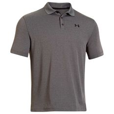 Under Armour Mens Performance Polo Shirt Grey S Adult, Grey, rebel_hi-res