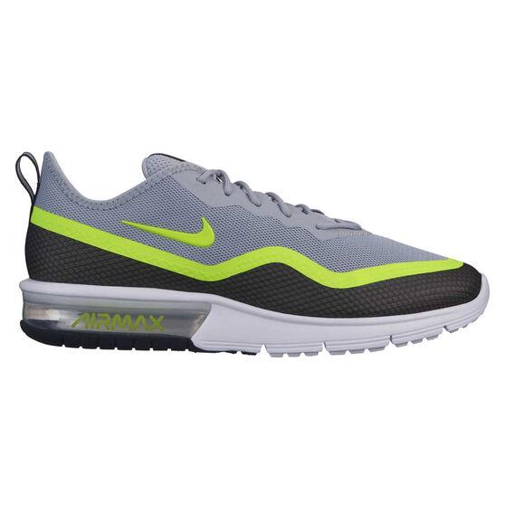 Nike Air Max Sequent 4.5 SE Mens Casual Shoes, Black / Yellow, rebel_hi-res