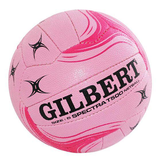 Gilbert Spectra T500 Netball Pink 5, , rebel_hi-res