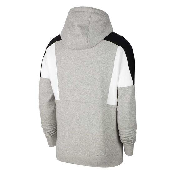 Nike Mens Sportswear Colour-Block Pullover Hoodie, Grey, rebel_hi-res