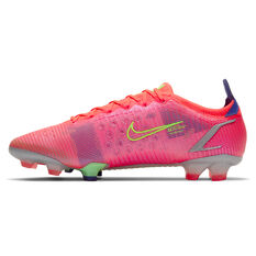 Nike Mercurial Vapor 14 Elite Football Boots Crimson US Mens 4 / Womens 5.5, Crimson, rebel_hi-res