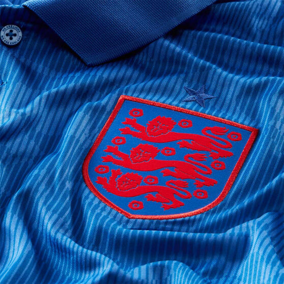 England 2020 Mens Stadium Away Jersey Blue S, Blue, rebel_hi-res
