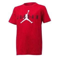 Nike Boys Jordan Jumpman Branded Tee Red S, Red, rebel_hi-res