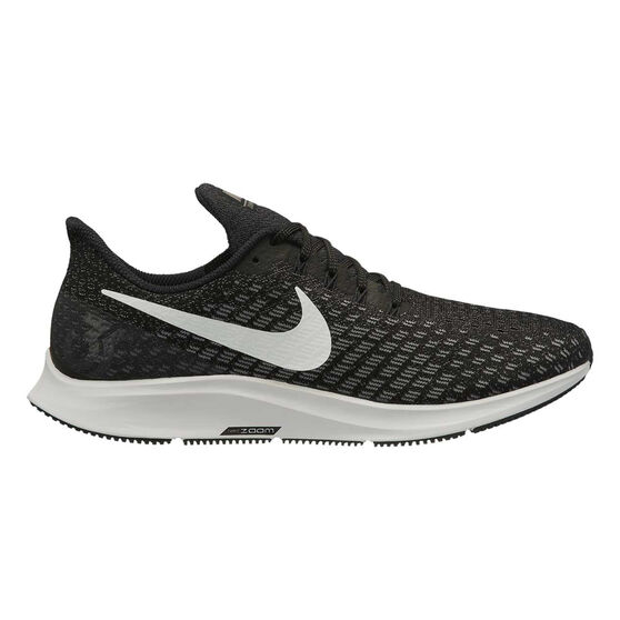 cheap for discount c1840 07fe2 Nike Air Zoom Pegasus 35 Mens Running Shoes Black   White US 7, Black