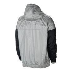 Los Angeles Lakers Mens Chrome Jacket Grey XS, Grey, rebel_hi-res