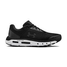 Under Armour HOVR Infinite Mens Running Shoes Black / White US 7, Black / White, rebel_hi-res