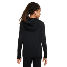 Nike Boys Kylian Mbappe Dri-Fit Hoodie Black XS, Black, rebel_hi-res