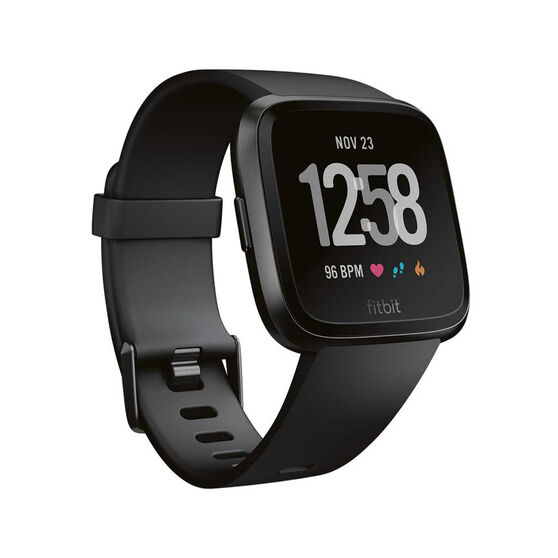Fitbit Versa Smartwatch Black, , rebel_hi-res