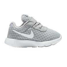 Nike Tanjun Toddlers Casual Shoes Grey / White US 2, Grey / White, rebel_hi-res