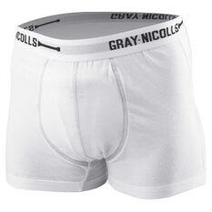Gray Nicolls Junior Cricket Trunks White 8, White, rebel_hi-res