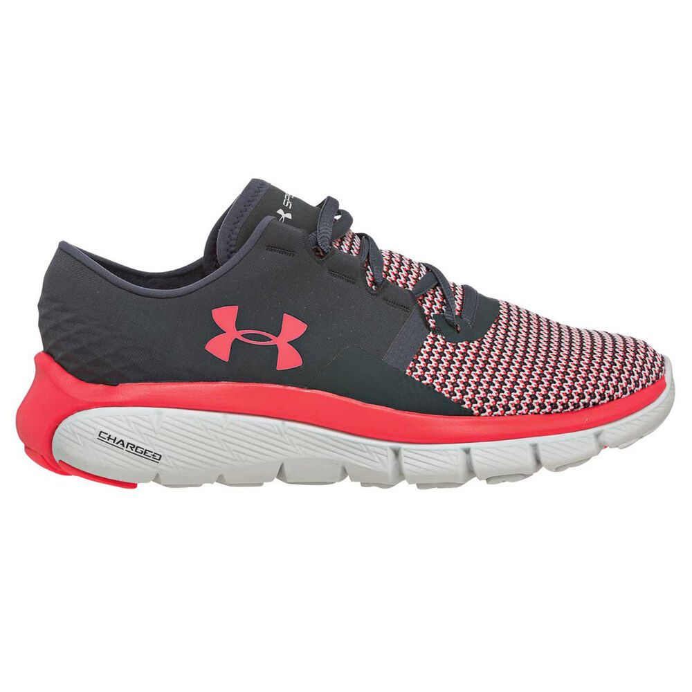8a9943591e0 Under Armour SpeedForm Fortis 2 Womens Running Shoes Grey   Pink US ...