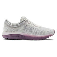 Under Armour Charged Bandit 5 Womens Running Shoes, Purple, rebel_hi-res
