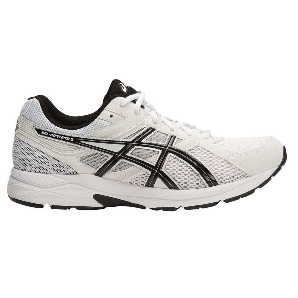 dccd35d11b25 Asics Gel Contend 3 Mens Running Shoes White   Black US 11.5