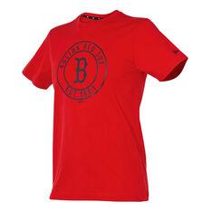 Boston Red Sox Mens Wheel Tee, , rebel_hi-res