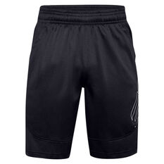 Under Armour Mens SC30 Underrated Basketball Shorts Black XS, Black, rebel_hi-res