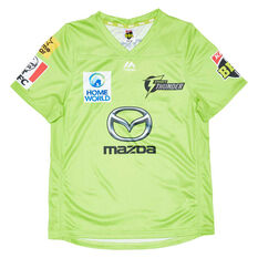Sydney Thunder 2020/21 Kids BBL Jersey Green 6, Green, rebel_hi-res