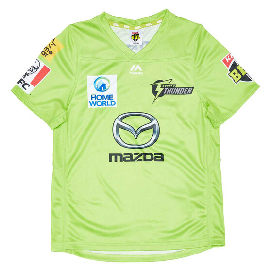 Sydney Thunder 2020/21 Kids BBL Jersey, Green, rebel_hi-res