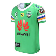 Canberra Raiders 2020 Kids Home Jersey Green 6, Green, rebel_hi-res