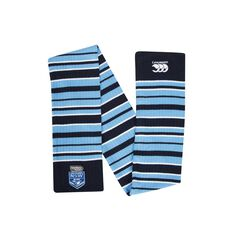NSW Blues State of Origin 2018 Knitted Scarf Small, , rebel_hi-res