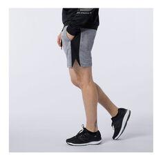 New Balance Mens Tenacity Knit Running Shorts Grey S, Grey, rebel_hi-res