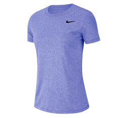 Nike Womens Dri-FIT Legend Training Tee Thistle XS, Thistle, rebel_hi-res