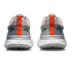 Nike React Infinity Run Flyknit 2 Womens Running Shoes, Purple/Grey, rebel_hi-res