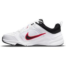 Nike Defy All Day Mens Training Shoes White/Black US 7, White/Black, rebel_hi-res
