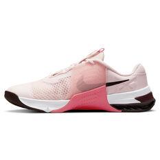 Nike Metcon 7 Womens Training Shoes Pink/White US 6, Pink/White, rebel_hi-res