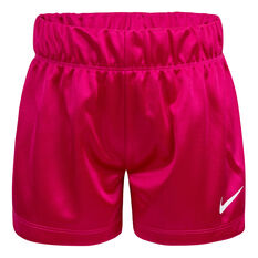 Nike Girls Dazzle Shorts Purple 4, Purple, rebel_hi-res