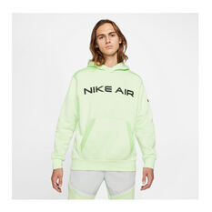 Nike Mens Air Pullover Hoodie Green S, , rebel_hi-res