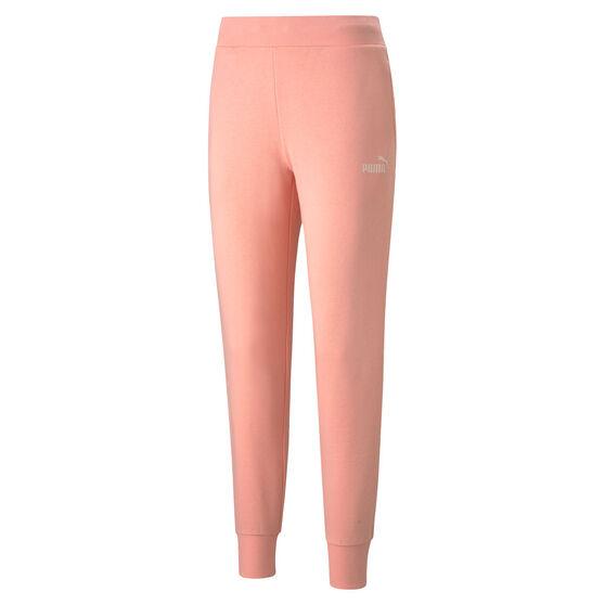 Puma Womens Essentials Sweatpants, Orange, rebel_hi-res