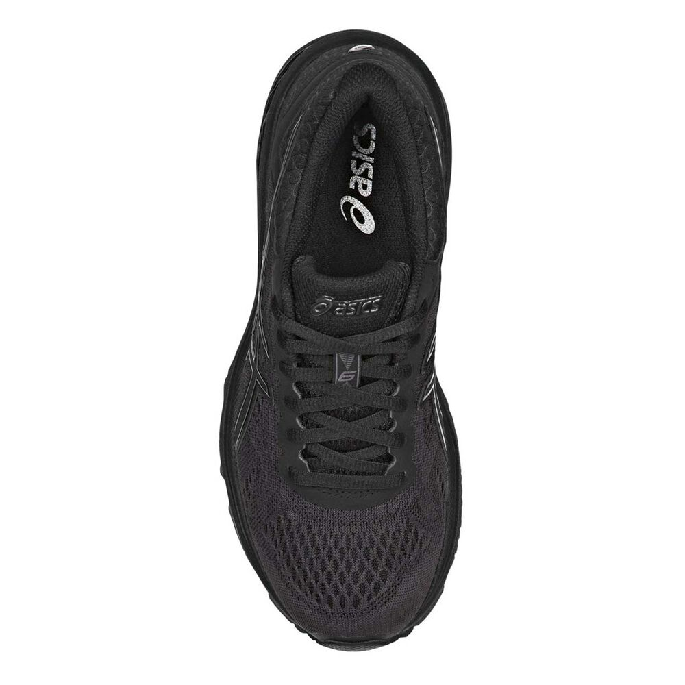 ed1506d71c72 Asics GT 1000 6 Womens Running Shoes Black US 6