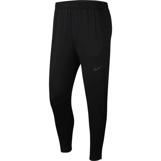 Nike Mens Phenom Knit Running Pants Black L, Black, rebel_hi-res