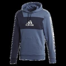 adidas Mens Sport ID Hoodie Navy S, Navy, rebel_hi-res