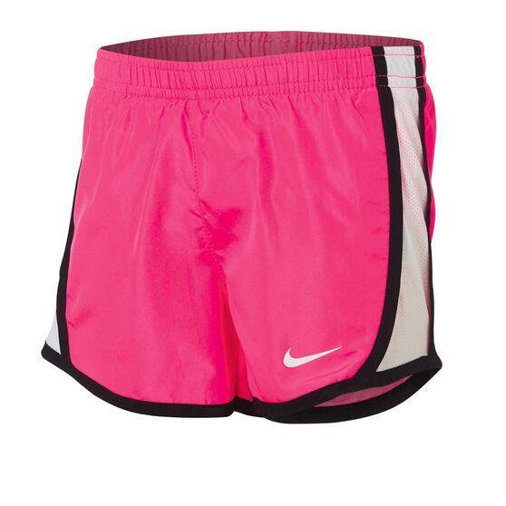 Nike Girls Dry Tempo Shorts, Pink / Black, rebel_hi-res