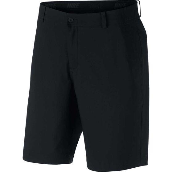 Nike Mens Flex Golf Shorts, Black, rebel_hi-res