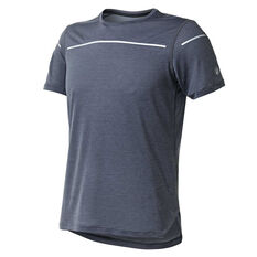 Asics Mens Lite Show Tee Black S, Black, rebel_hi-res