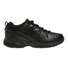 New Balance 625 Kids Cross Training Shoes White / Navy US 4, White / Navy, rebel_hi-res