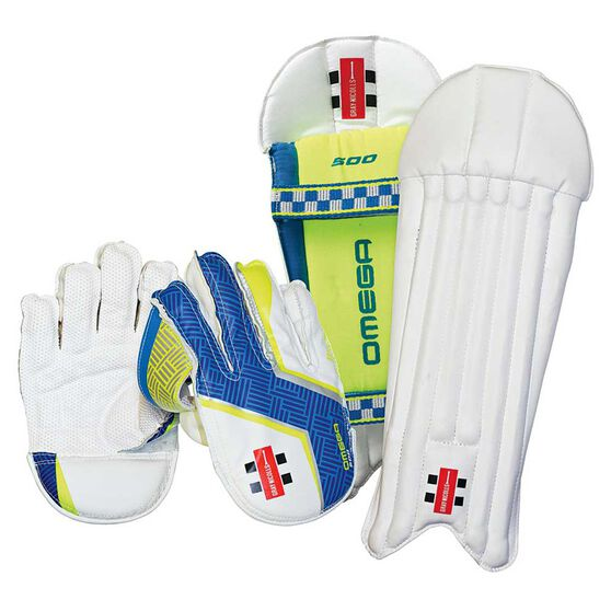 Gray Nicolls Omega 500 Junior Wicketkeeper Set Junior, , rebel_hi-res