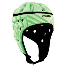 Steeden Super Lite Headgear Lime Junior, Lime, rebel_hi-res
