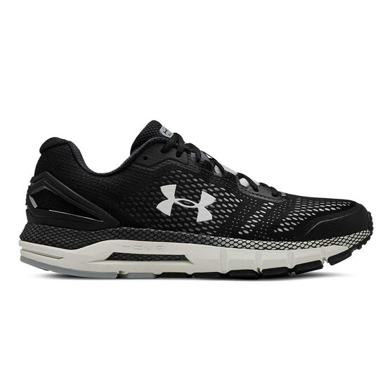 Under Armour HOVR Guardian Mens Running Shoes, Black / White, rebel_hi-res
