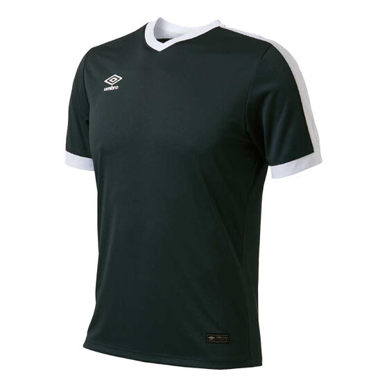 Umbro Velocity Knit Jersey, Black, rebel_hi-res