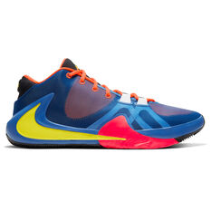 Nike Zoom Freak 1 Mens Basketball Shoes Orange / Yellow US 9.5, Orange / Yellow, rebel_hi-res