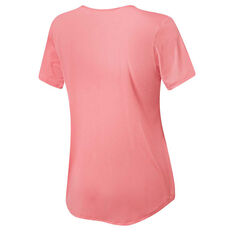 Running Bare Womens On Your Marks Tee, Pink, rebel_hi-res