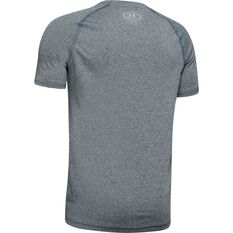 Under Armour Boys Tech Tee, Grey, rebel_hi-res
