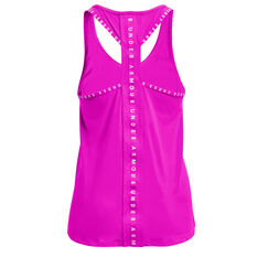 Under Armour Womens Knockout Tank Pink XS, Pink, rebel_hi-res