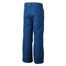 Tahwalhi Kids Kick Ski Pants Blue 4, Blue, rebel_hi-res